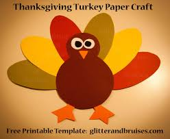 Thanksgiving Craft For Kids Thanksgiving Turkey Paper Craft For Kids Download And Print Free