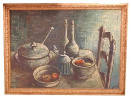 Kitchen Painting Similiar Art Paintings Country Kitchen Keywords