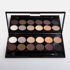 black friday sleek i divine au natural palette mineral based eye shadow palette from sleek