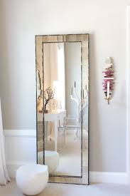 I want a full-length mirror. Every fashion lover knows a glimpse in a
