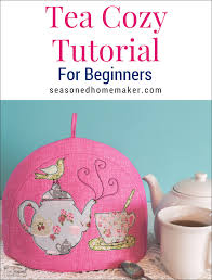 DIY Tea Cozy Tutorial - The Seasoned Homemaker & Have fun making a tea cozy in your favorite fabrics. Add in some appliqué to Adamdwight.com