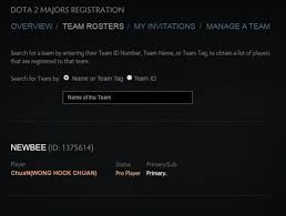 chuan registers with newbee s primary roster for shanghai major