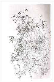 9787539328782 オオケタデ 紅蓼 唯美白描精選 中国語絵画 下絵 大人の塗り絵
