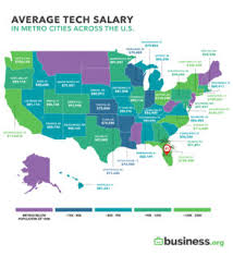 Utah To Salaries Cities States How Compare Other Among Tech And