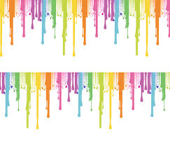 Rainbow Paint Drip fabric by lanrete58 on Spoonflower - custom fabric