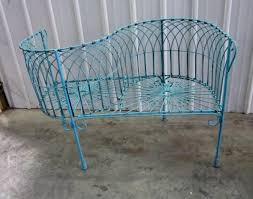 rot iron patio furniture