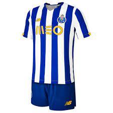 New balance FC Porto Home Junior Kit 20/21 White, Goalinn