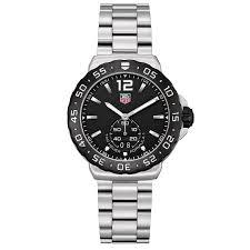9 most popular tag heuer watches for men luxury wristwear the tag heuer formula one grande date mens watch wau1110 ba0858