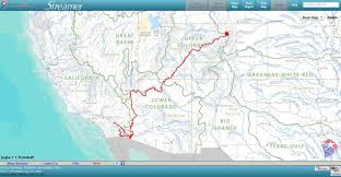 the missing colorado river delta rivers borders and maps