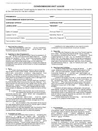 Condo Lease Agreement - 10 Free Templates In Pdf, Word, Excel Download