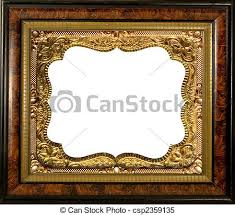 antique wood picture frames. ANTIQUE EMBELLISHED PICTURE FRAME - Csp2359135 Antique Wood Picture Frames