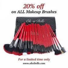 quany 32 pcs setcolor black whitehair material soft synthetic fiberhandle material makeup brush setmakeup