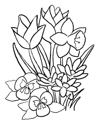 Spring Flower Template Spring Flowers Printable Template Flowers Healthy