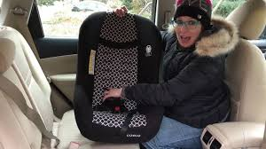 cosco car seat installation care