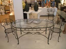 salterini wrought iron furniture. Vintage Salterini Wrought Iron Dining Table And Chairs At 1Stdibs In Furniture R