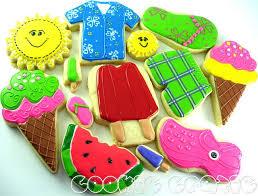 decorated summer sugar cookies.  Cookies Summer Decorated Cookies In Sugar O