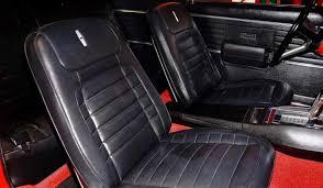 2010 camaro seat covers 1968 chevrolet camaro ls resto mod red black ae classic cars of