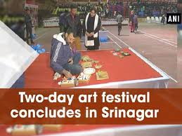 two day art festival concludes in srinagar video gallery business standard