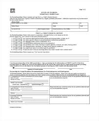 Blank Medical Records Release Form Request Template Free ...