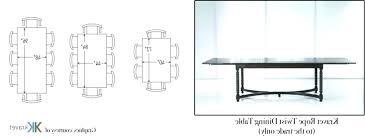 6 seater dining table dimensions round for co sizes