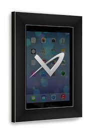 vidamount ipad metal wall frame mount isometric view
