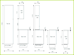 Standard Kitchen Wall Cabinet Sizes Chart Uk Size Large Of