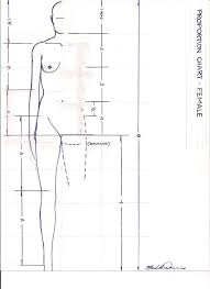 Human Proportions Chart One Of A Kind How To Make Your Own Proportion Chart