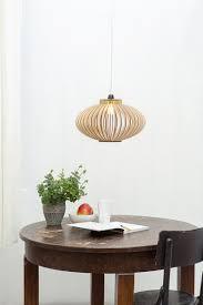 Scandinavische Stijl Houten Hanglamp Houten Plafond Etsy