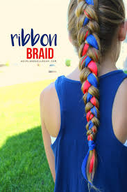 Fourth Of July Hairstyles Fourth Of July Hair Monthly Subscription Head To And Ribbon Braids