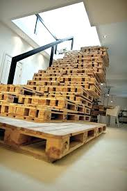 old pallet furniture. Old Pallet Furniture Recycled Staircase  Wooden .