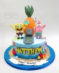 Spongebob Birthday Picture Of Empire Cake New York City Tripadvisor