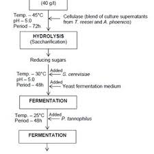 Water Flow Conversion Chart Flow Chart For Conversion Of Water Hyacinth To Bioethanol 9