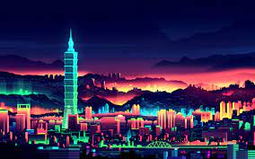 My Outrun/Neo 80s themed wallpapers ...