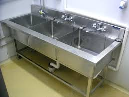 commercial kitchen sink. Commercial Kitchen Sinks 3 Compartment Info Motivate Sink Regarding With Decor 12