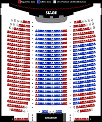 Branson Famous Theatre Seating Chart Seating Chart At The Americana Theater