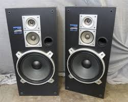 pioneer floor speakers cs. pair vintage pioneer cs-c9000 floor standing 3-way 150w stereo speakers - works cs o