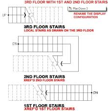 Stairs Floor Plan Dazzling Design Inspiration 2 Plans Floors And AutoCAD On  Pinterest.
