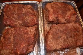pulled pork smoked pork