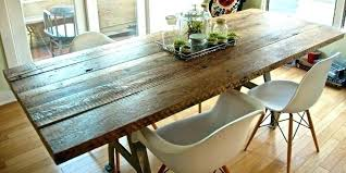 reclaimed wood dining table top room interior design how to make ideas