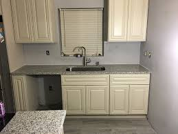 brand new luna pearl granite countertops installation wy14
