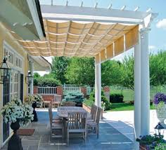 Pergola Shade Ideas Attached Pergola Shade Modern And Stylish With White  Creations Deocrate Modern Elegant And Simple Creative