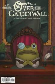 over the garden wall ongoing 15 hunt for hero frog greg hunt for hero frog wirt issue