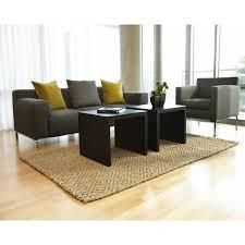 Jute Rug Living Room Area Rugs Studiolx Perfect Diamond Jute Rug 9 X 12 By Anji