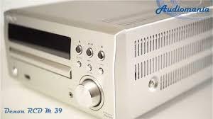 <b>CD ресивер Denon</b> RCD M 39 - YouTube