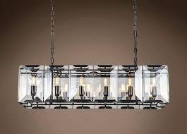 rectangular chandelier
