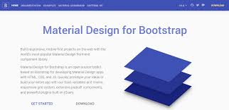 Bootstrap Material Design Example 20 Best Material Design Frameworks And Libraries Tutsforweb