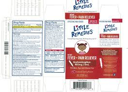 Little Remedies Infant Berry Fever Pain Reliever