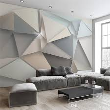 bedroom modern with tv. Custom Photo Wall Paper 3d Modern Tv Background Living Room Bedroom Abstract Art Mural Geometric Covering Wallpaper Cellphone With