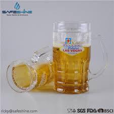 630ml bpa free double wall plastic beer