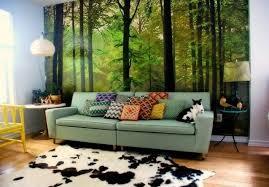 3D Wallpaper Mural Waterfall Nature Bedroom Living Room TV Nature Room Design
